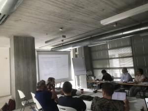 Fra workshop hvor vi bl.a. øvde oss på konseptuell modellering (CRM) av Wikipedia-artikkelen om mordet på JFK (!).