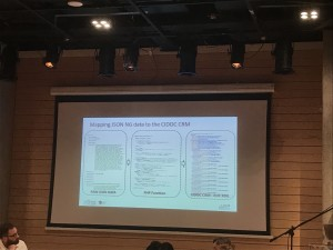 Flere prosjekter som omhandlet konvertering, eller tilpasning, til CIDOC CRM ble presentert på konferansen.